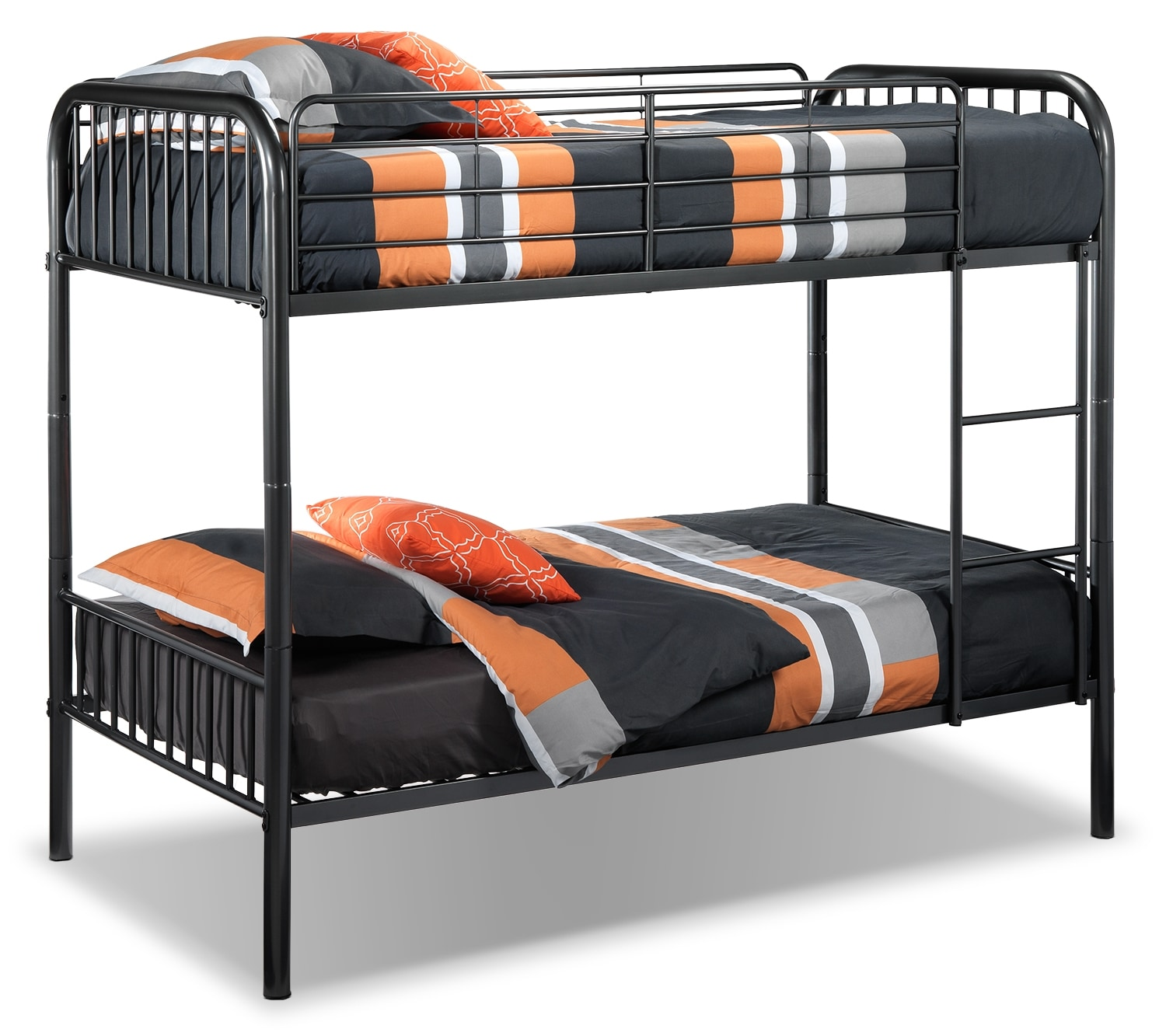 Kids Furniture - Aaron Twin Bunk Bed