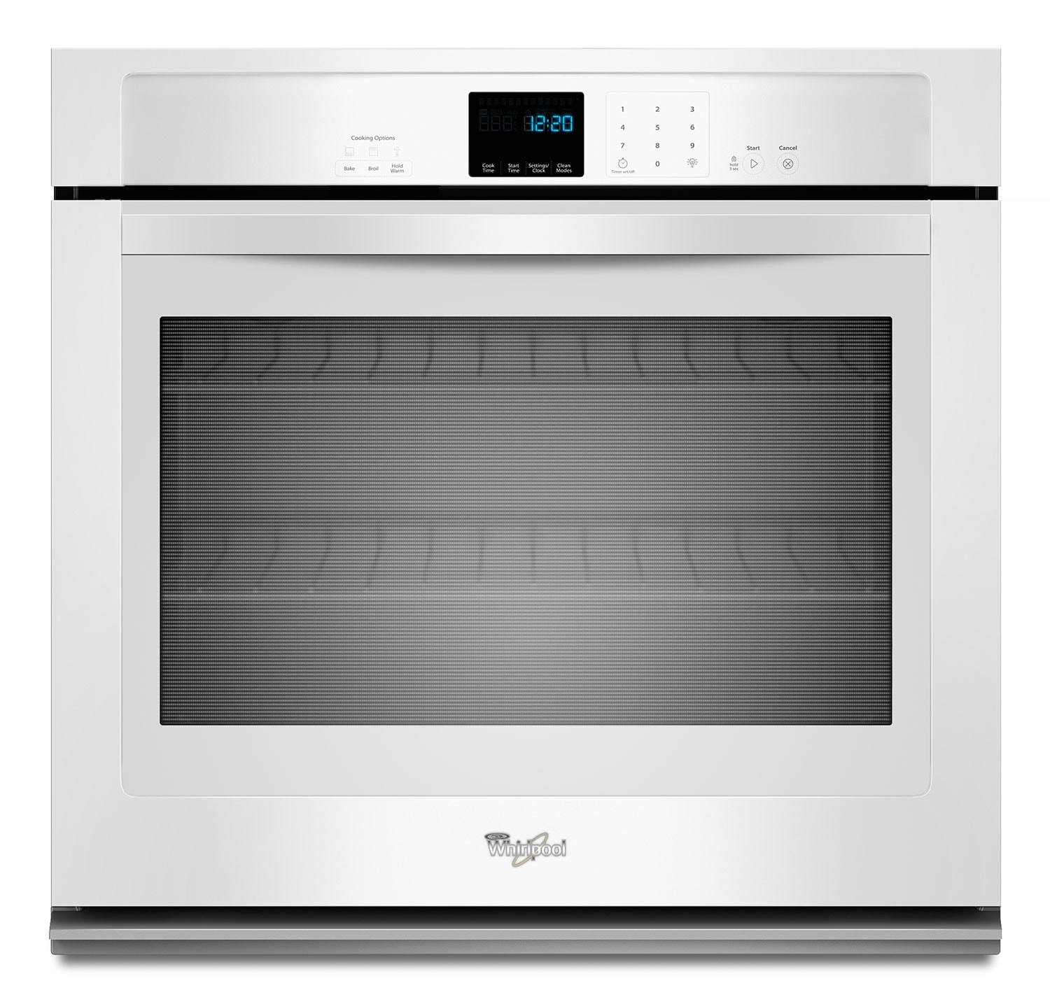 Whirlpool White Wall Oven (4.3 Cu. Ft.) - WOS51EC7AW