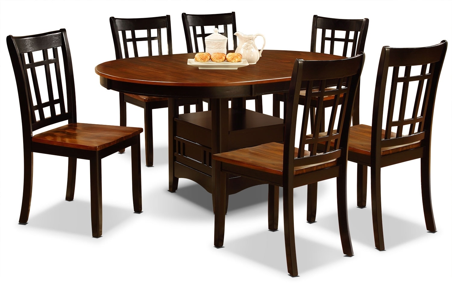Dining Room Furniture - Dara 7-Piece Dining Package