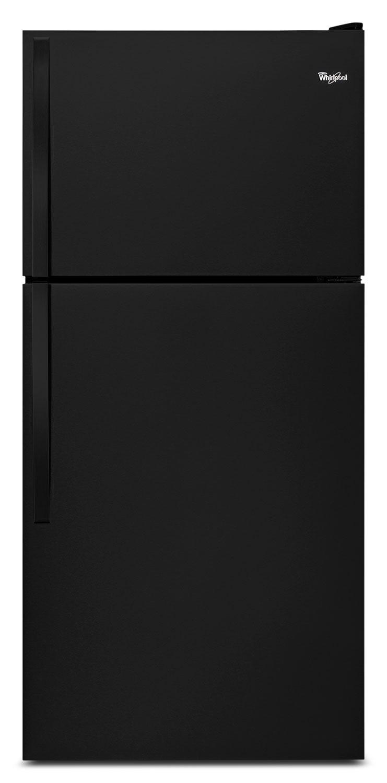 Refrigerators and Freezers - Whirlpool Black Top-Freezer Refrigerator (18.2 Cu. Ft.) - WRT318FZDB