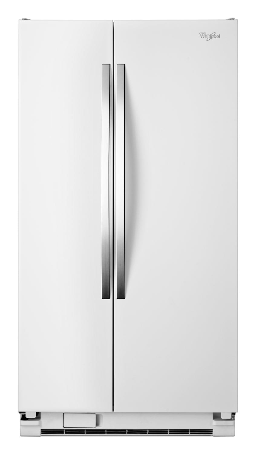 [Whirlpool White Side-by-Side Refrigerator (21.5 Cu. Ft.) - WRS322FNAH]