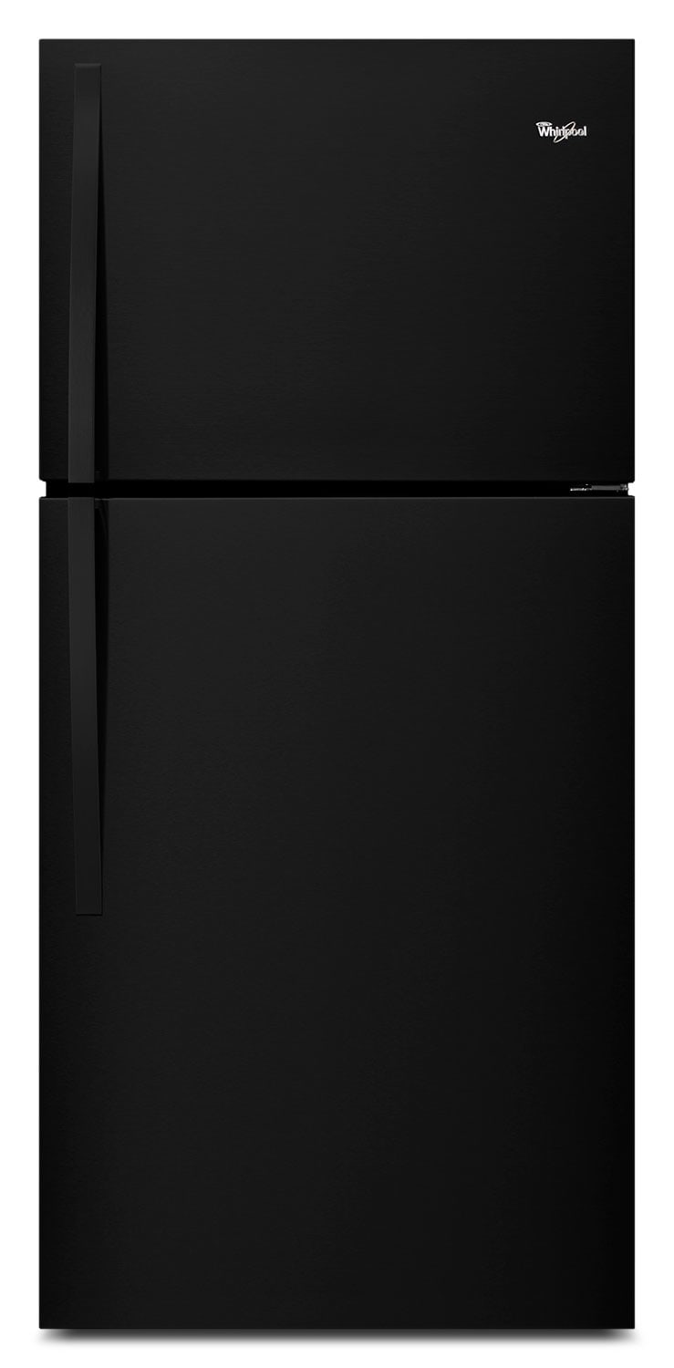 Refrigerators and Freezers - Whirlpool Black Top-Freezer Refrigerator (19.2 Cu. Ft.) - WRT549SZDB