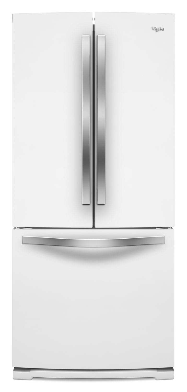 Refrigerators and Freezers - Whirlpool White French Door Refrigerator (19.7 Cu. Ft.) WRF560SMYH