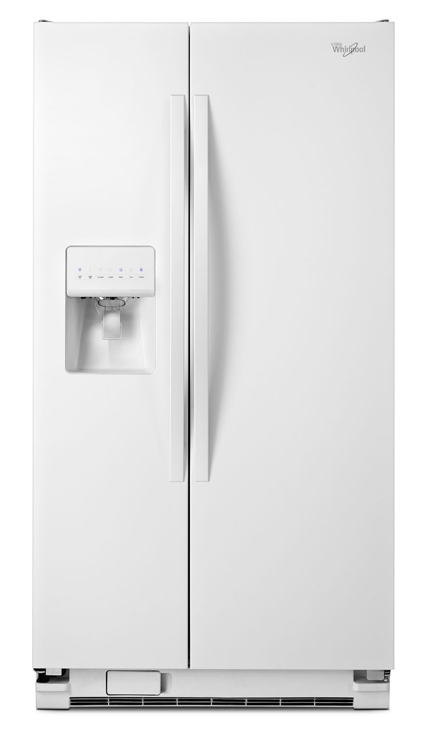 Whirlpool White Side-by-Side Refrigerator (24.5 Cu. Ft.) - WRS335FDDW
