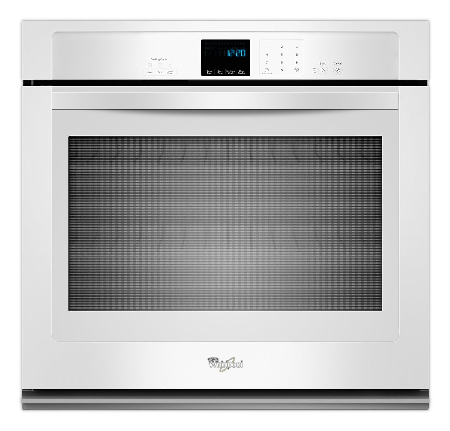 Cooking Products - Whirlpool White Wall Oven (5.0 Cu. Ft.) - WOS51EC0AW