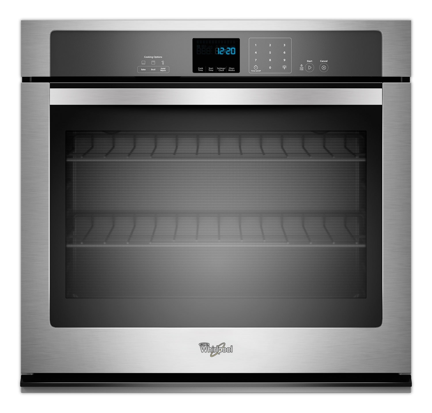 Whirlpool Stainless Steel Wall Oven (5 Cu. Ft.) - WOS51EC0AS