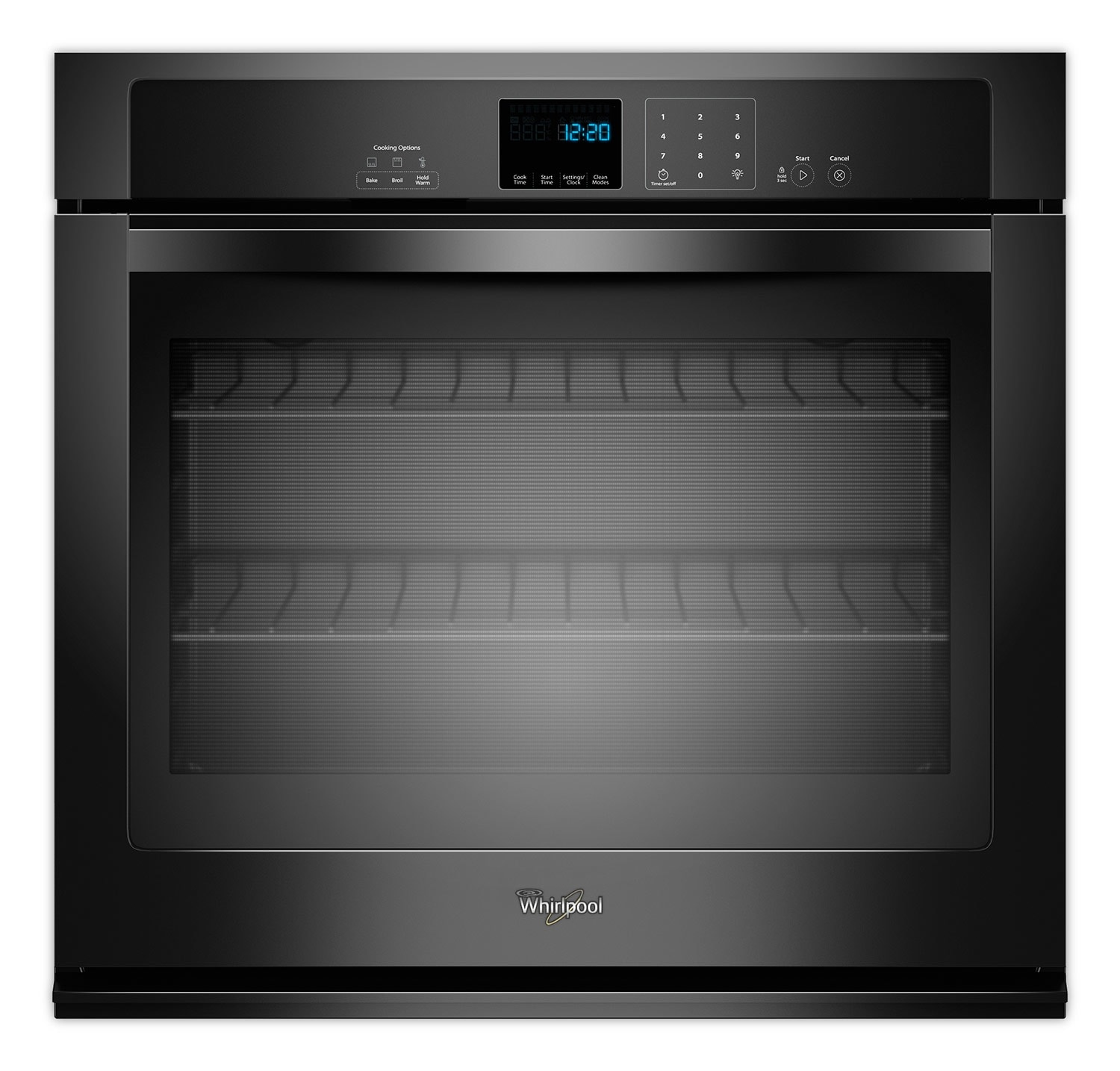 Cooking Products - Whirlpool Black Wall Oven (5.0 Cu. Ft.) - WOS51EC0AB
