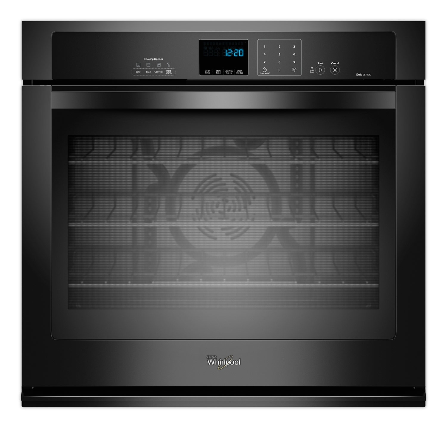 Whirlpool Black Wall Oven (5 Cu. Ft.) - WOS92EC0AB
