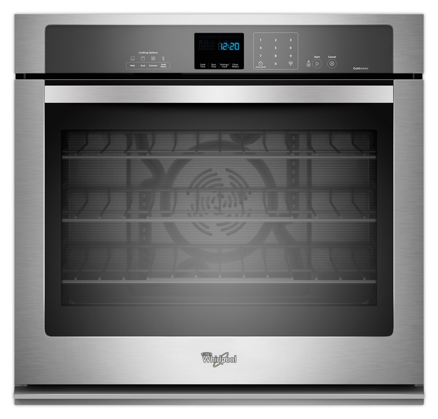 Whirlpool Stainless Steel Wall Oven (4.3 Cu. Ft.) - WOS92EC7AS