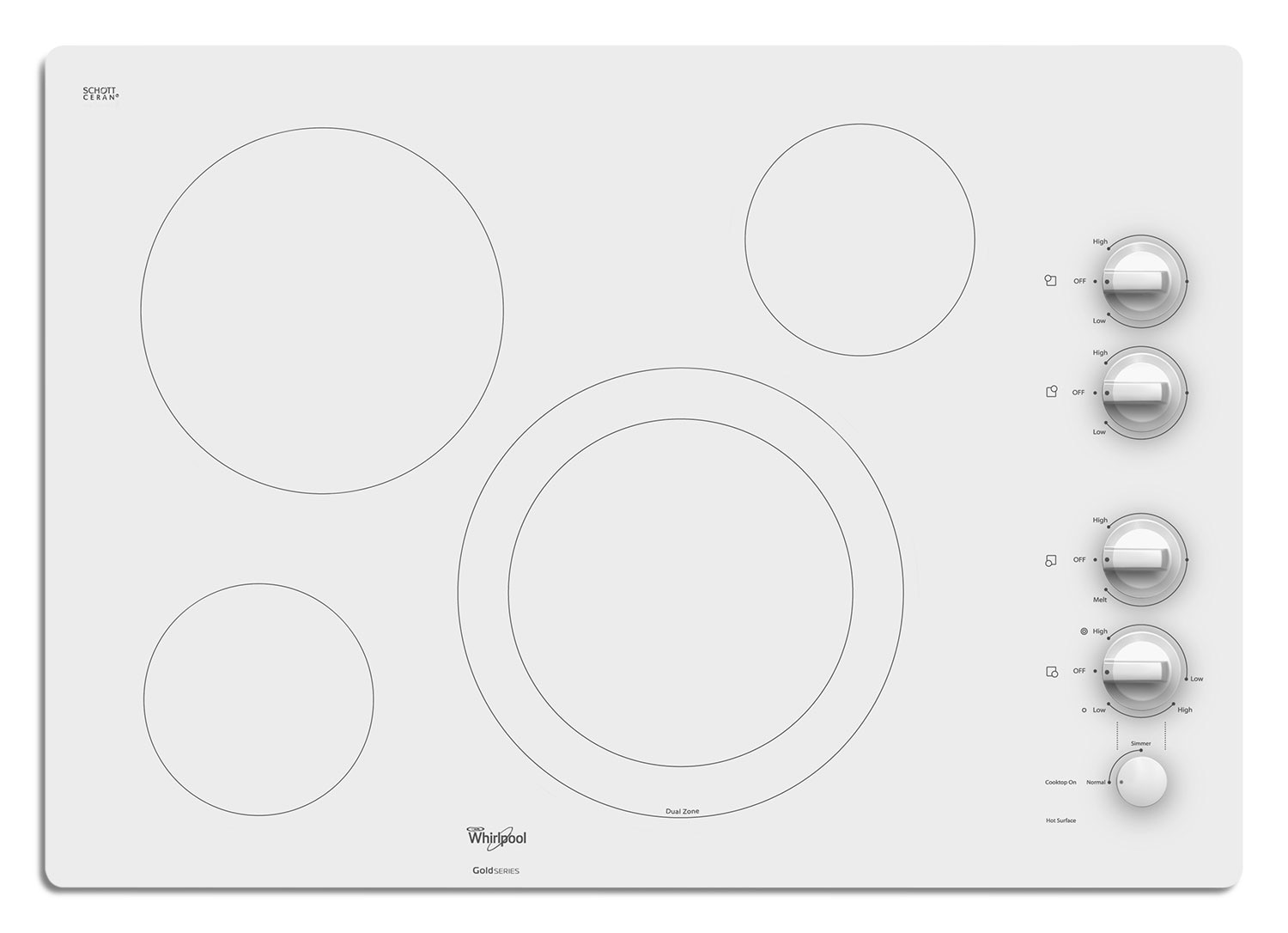 Whirlpool Electric Cooktop G7CE3034XP