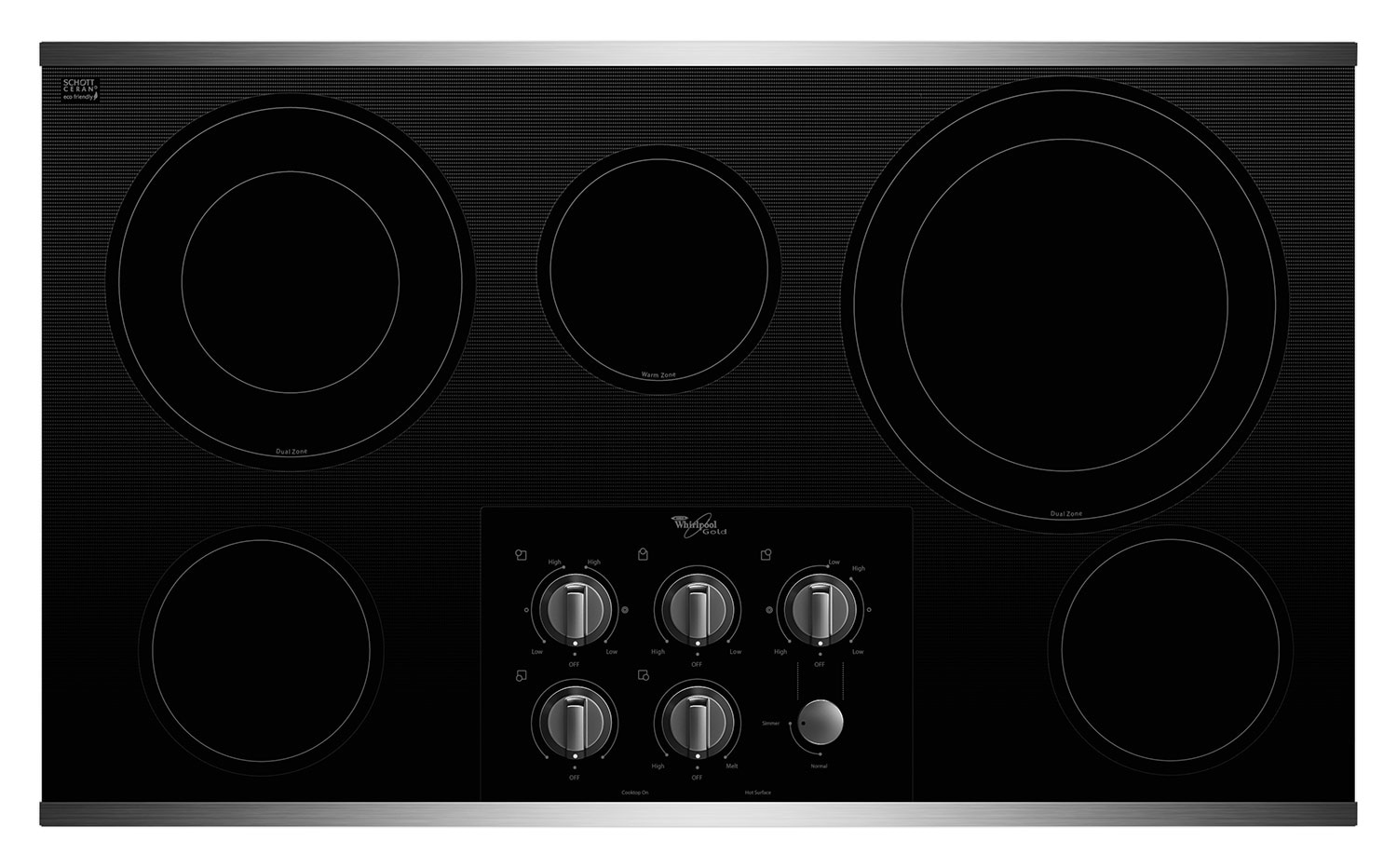 Whirlpool Electric Cooktop G7CE3635XS