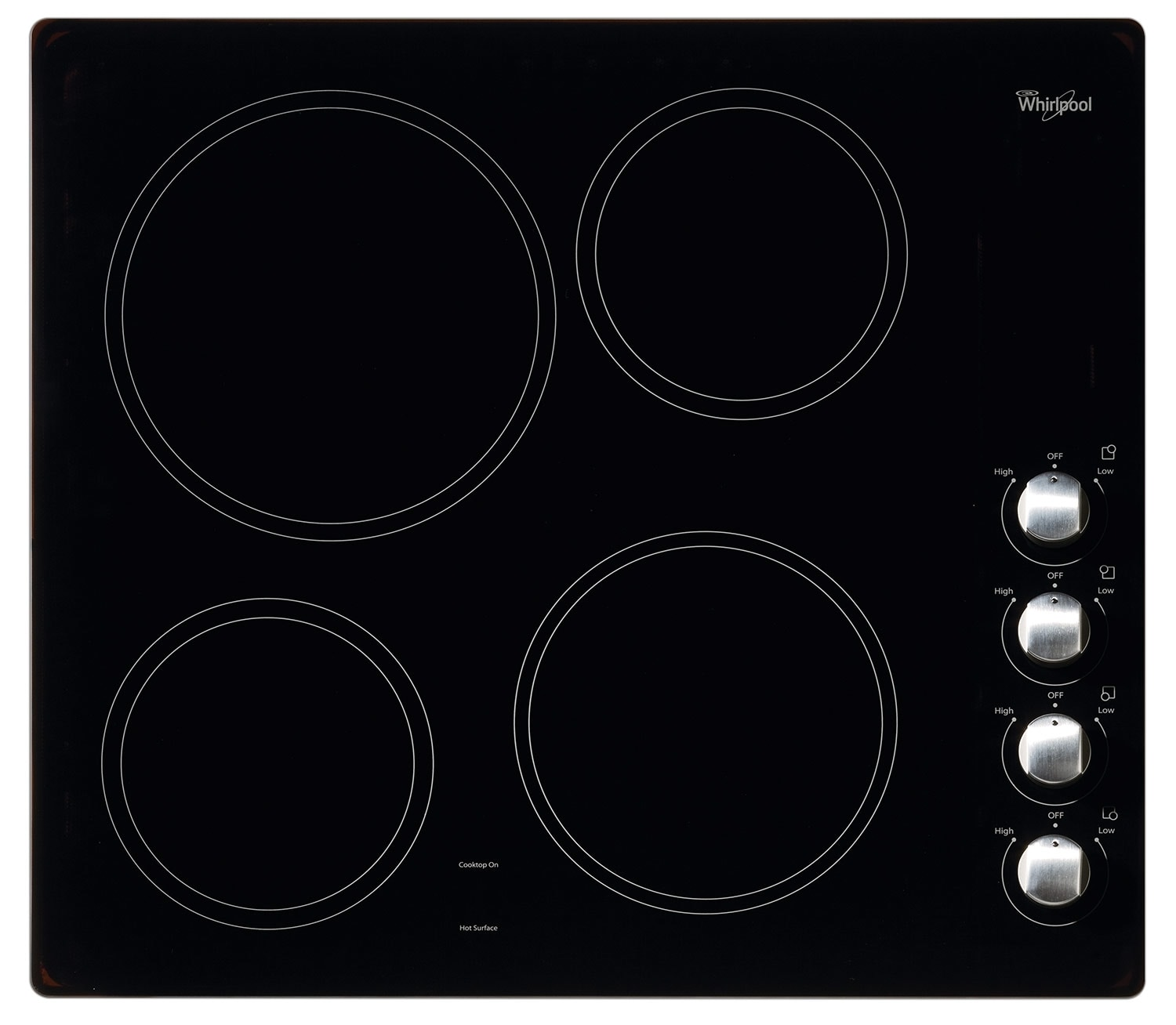 Whirlpool Electric Cooktop WCE52424AB