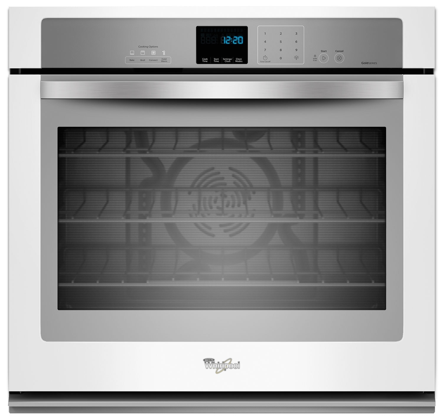Whirlpool White Convection Wall Oven (5.0 Cu. Ft.) - WOS92EC0AH