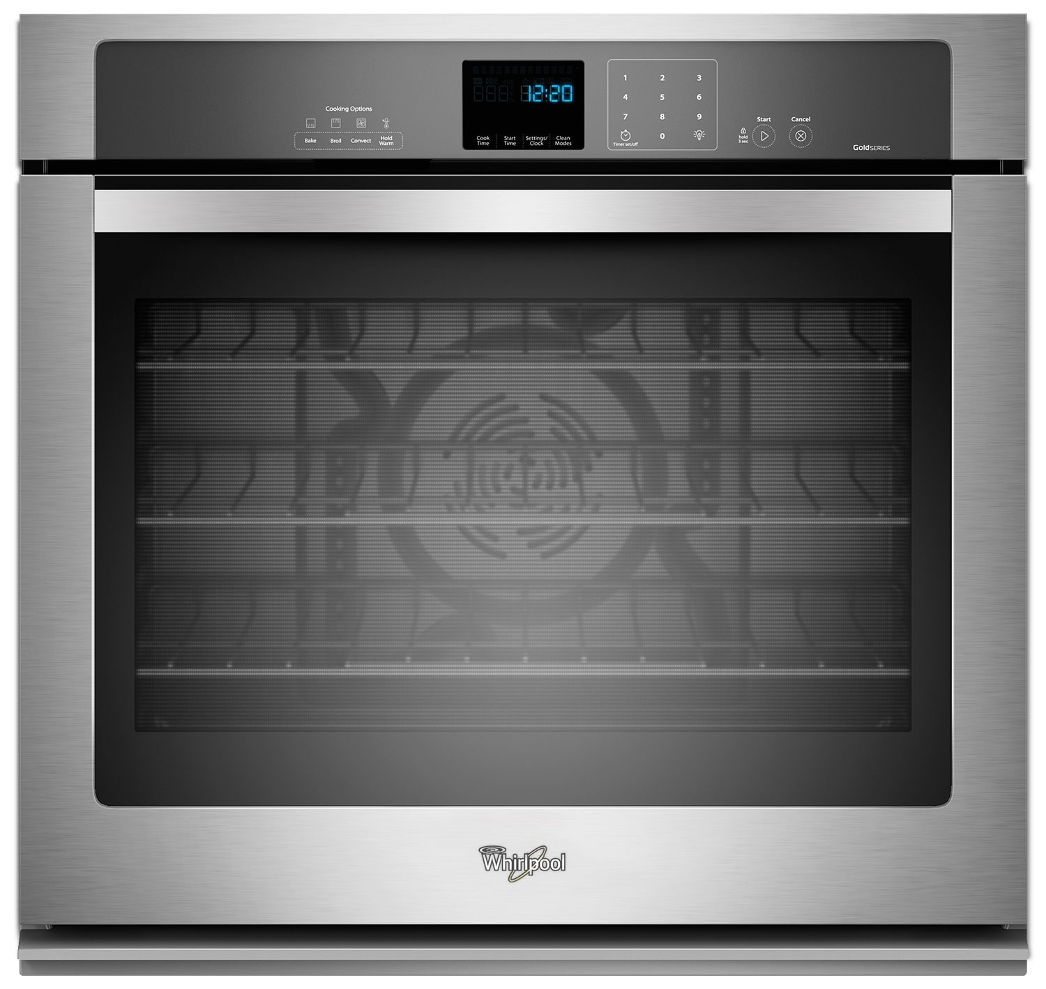 Whirlpool Stainless Steel Convection Wall Oven (5.0 Cu. Ft.) - WOS92EC0AS