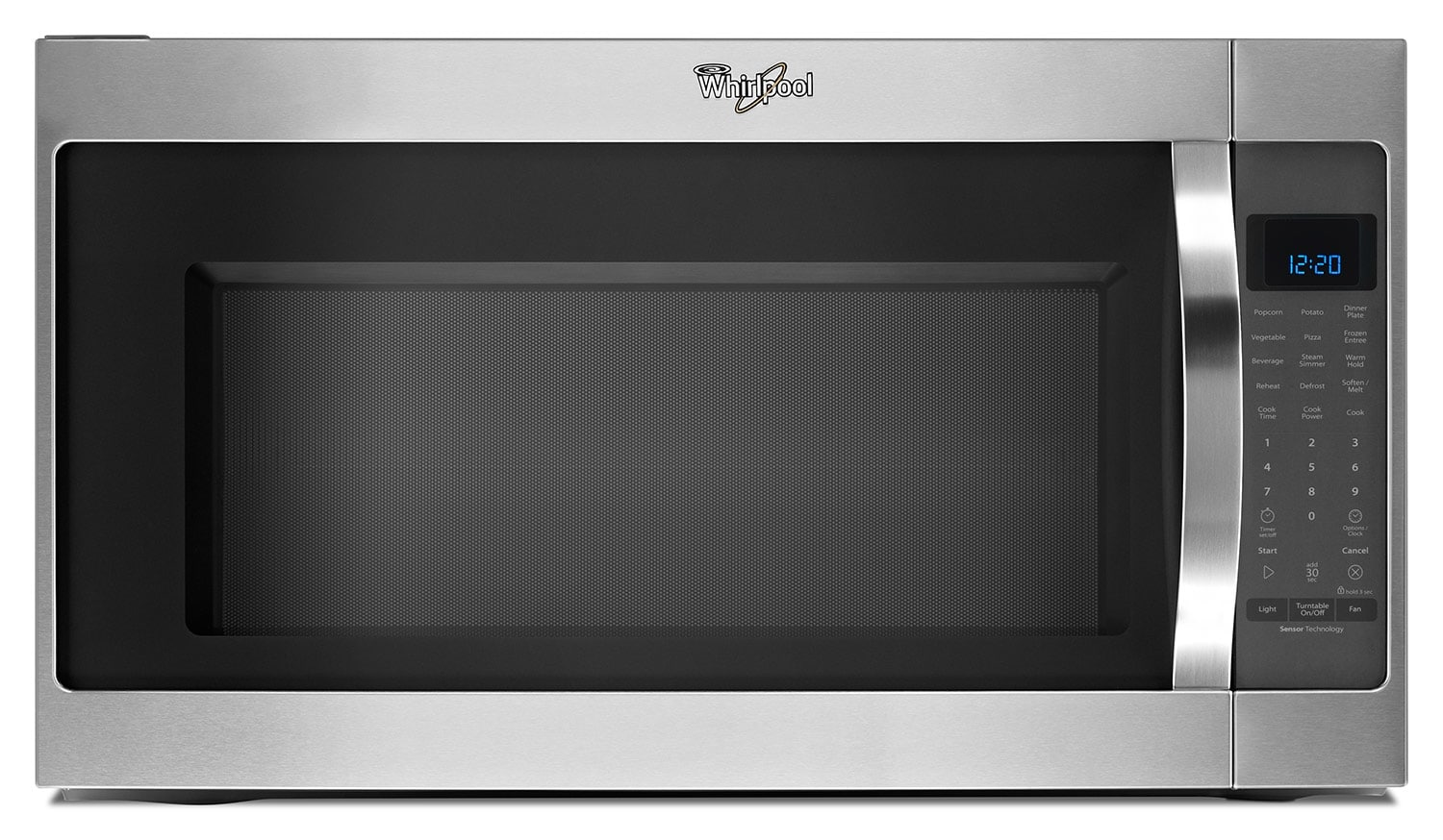 Cooking Products - Whirlpool Stainless Steel Over-the-Range Microwave (2 Cu. Ft.) - YWMH53520CS