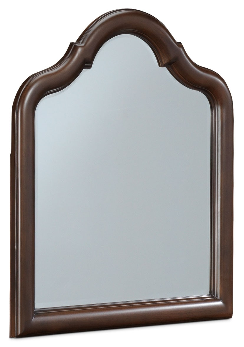 Chris Mirror w/ Supports - Cherry