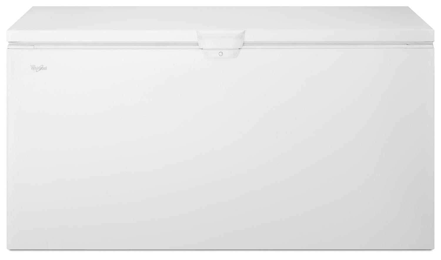 Refrigerators and Freezers - Whirpool White Chest Freezer (21.7 Cu. Ft.) - WZC3122DW