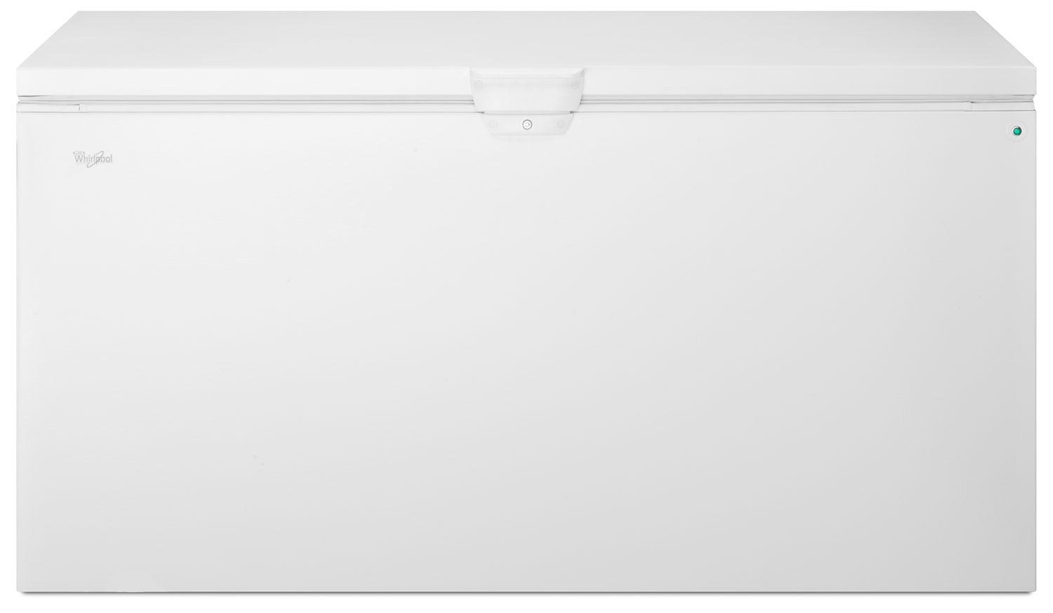 Refrigerators and Freezers - Whirlpool White Chest Freezer (21.7 Cu. Ft.) - WZC5422DW