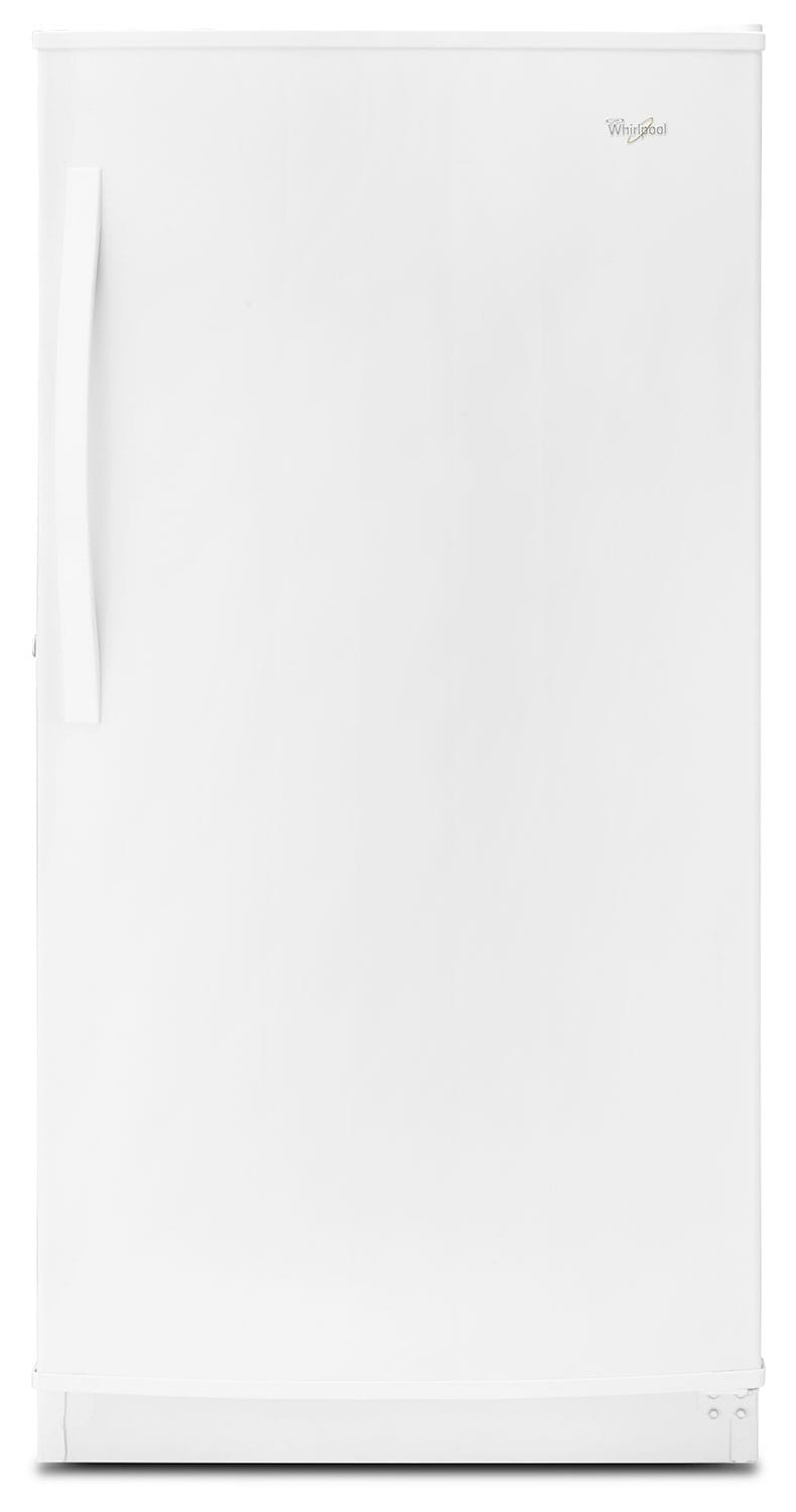 Refrigerators and Freezers - Whirlpool White Upright Freezer (15.7 Cu. Ft.) - WZF56R16DW