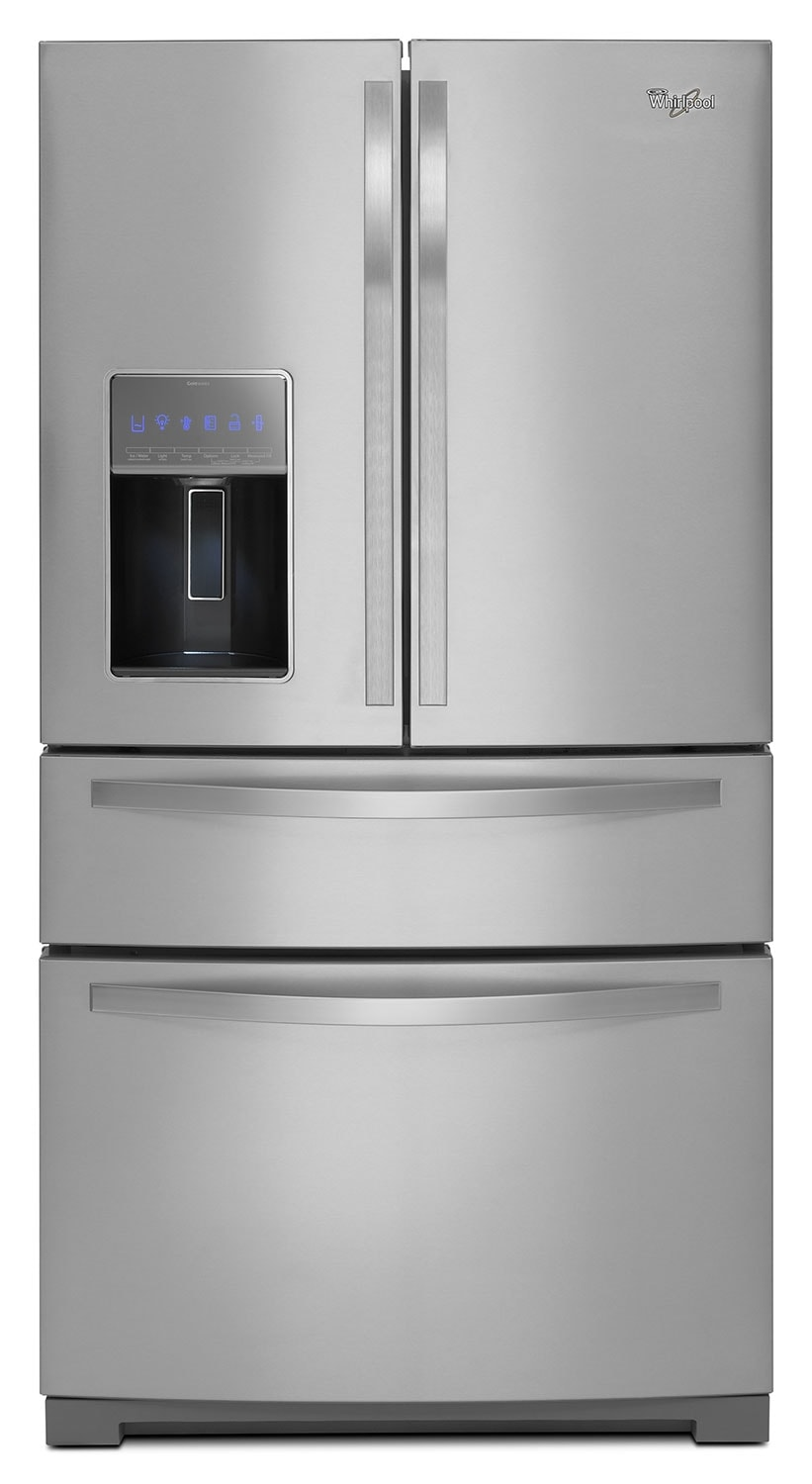 Refrigerators and Freezers - Whirlpool Stainless Steel French Door Refrigerator (26.2 Cu. Ft.) - WRX988SIBM