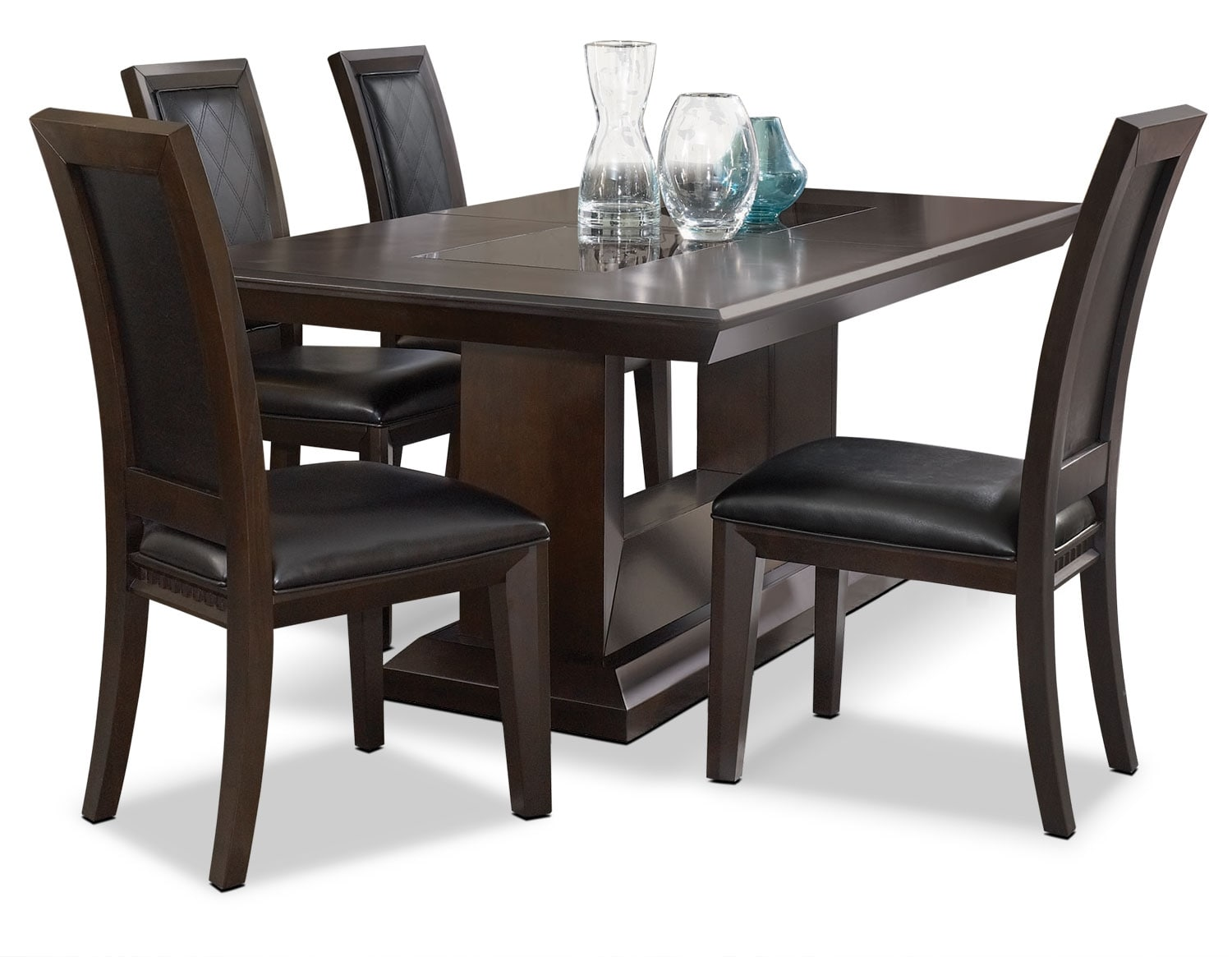 Dining Room Furniture - Brentwood 5 Piece Dining Package