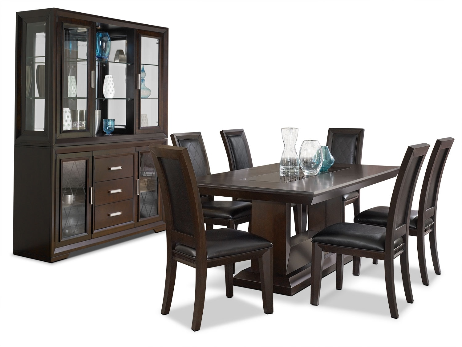 The Brick Dining Room Sets Brentwood 9 Piece Dining Package The Brick