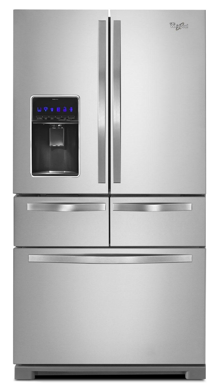 Whirlpool 26 Cu. Ft. Multi-Door French-Door Refrigerator – WRV976FDEM