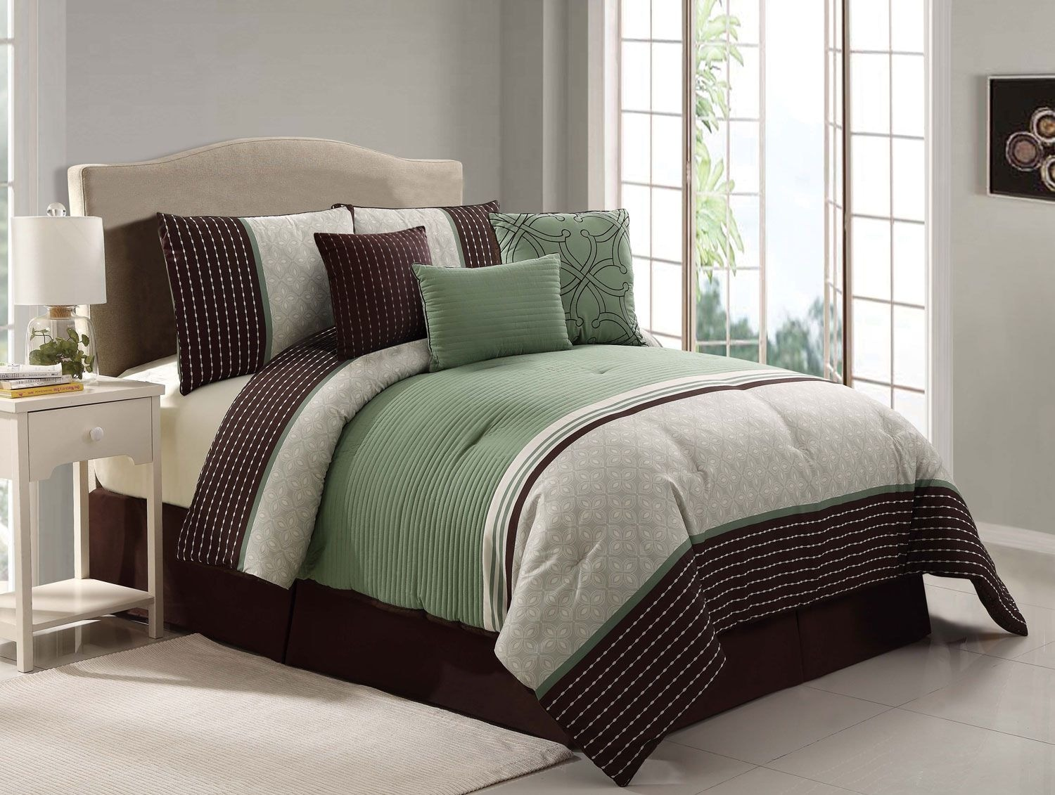 Seville 7-Piece King Comforter Set