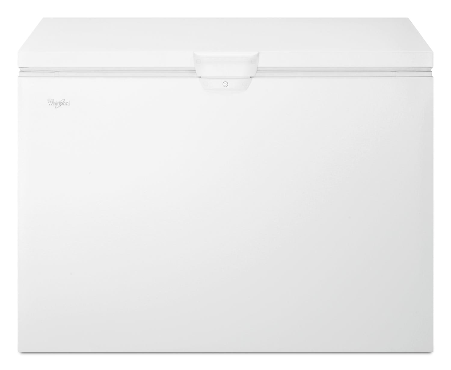 Refrigerators and Freezers - Whirlpool White Chest Freezer (14.8 Cu. Ft.) - WZC3115DW