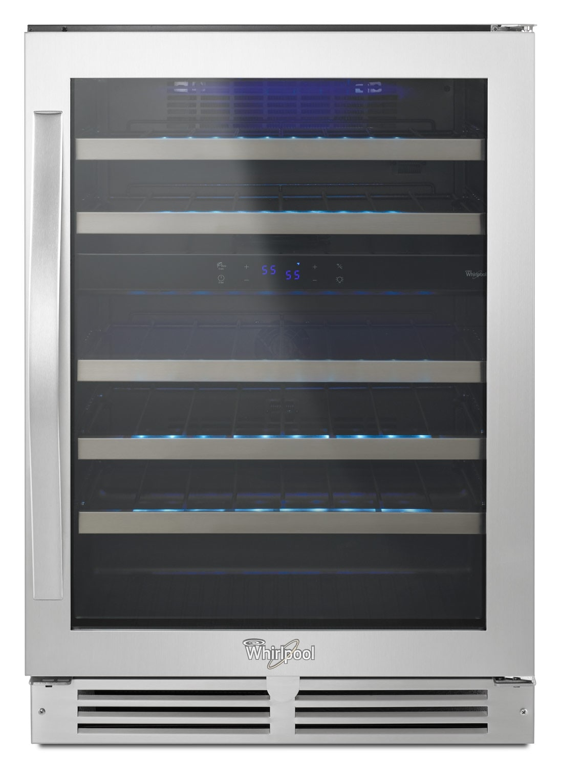 Whirlpool Stainless Steel Wine Cooler - WUW55X24DS