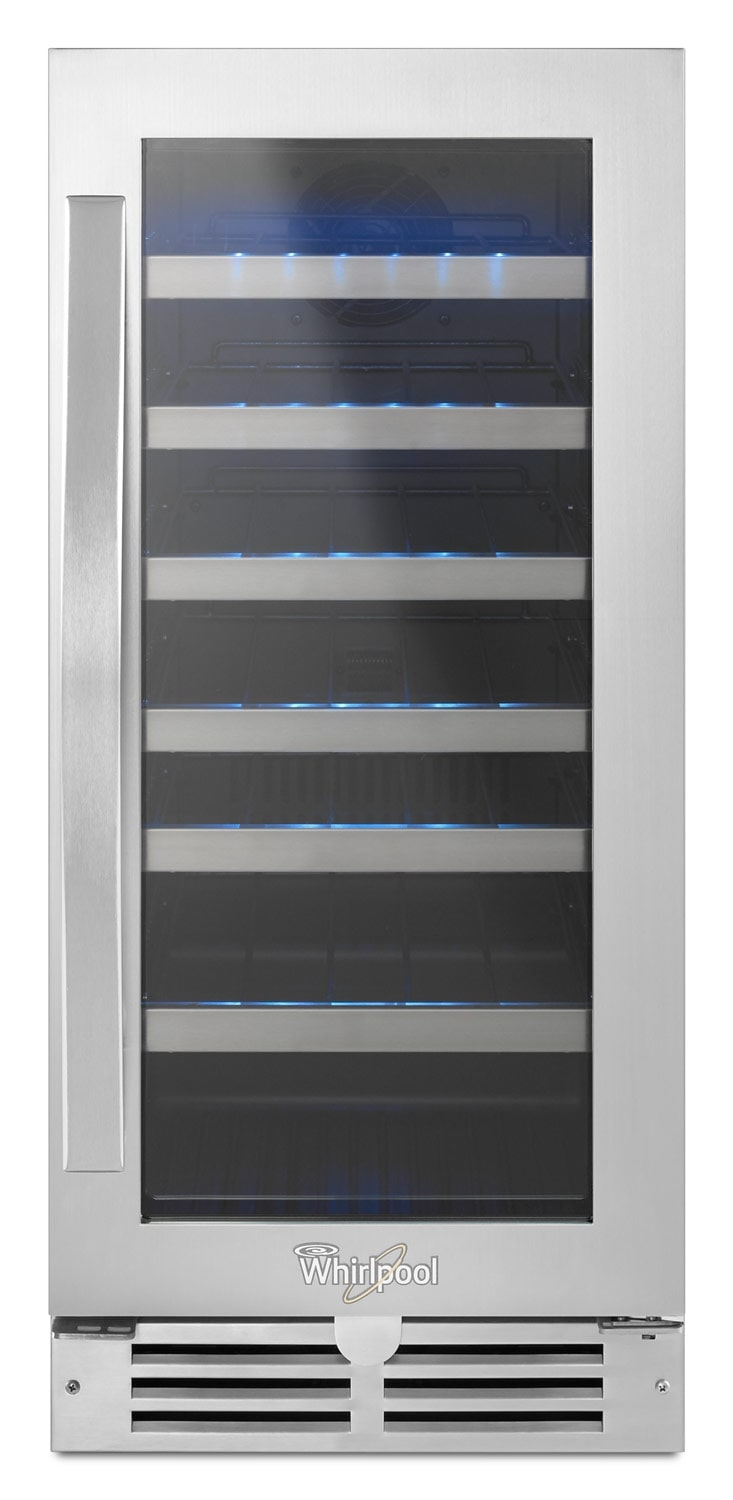 Whirlpool Stainless Steel Wine Cooler - WUW55X15DS