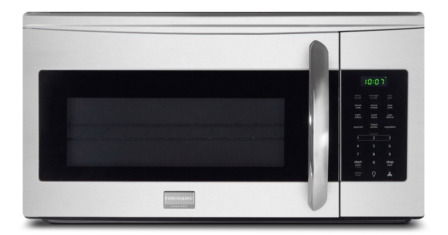 Cooking Products - Frigidaire Gallery Stainless Steel Over-the-Range Microwave (1.7 Cu. Ft.) - CGMV175QF