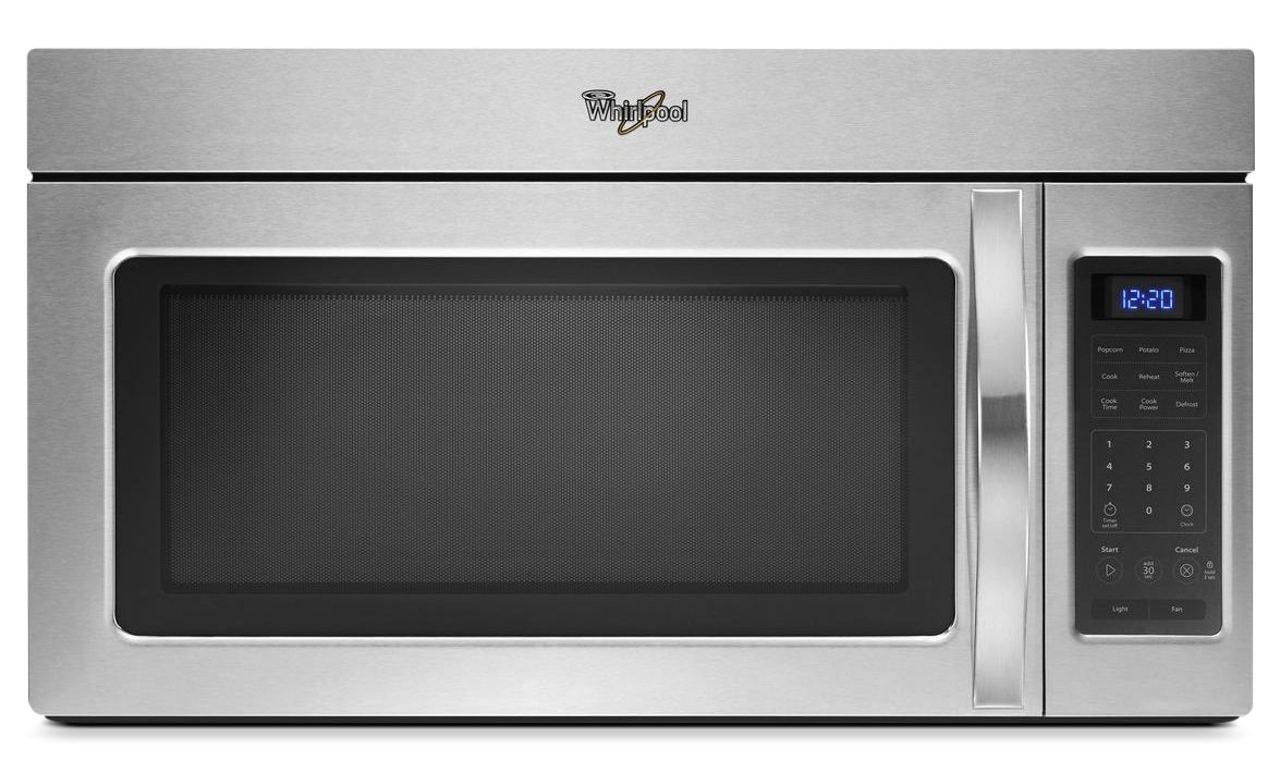 Cooking Products - Whirlpool Stainless Steel Over-the-Range Microwave (1.7 Cu. Ft.) - YWMH31017AS