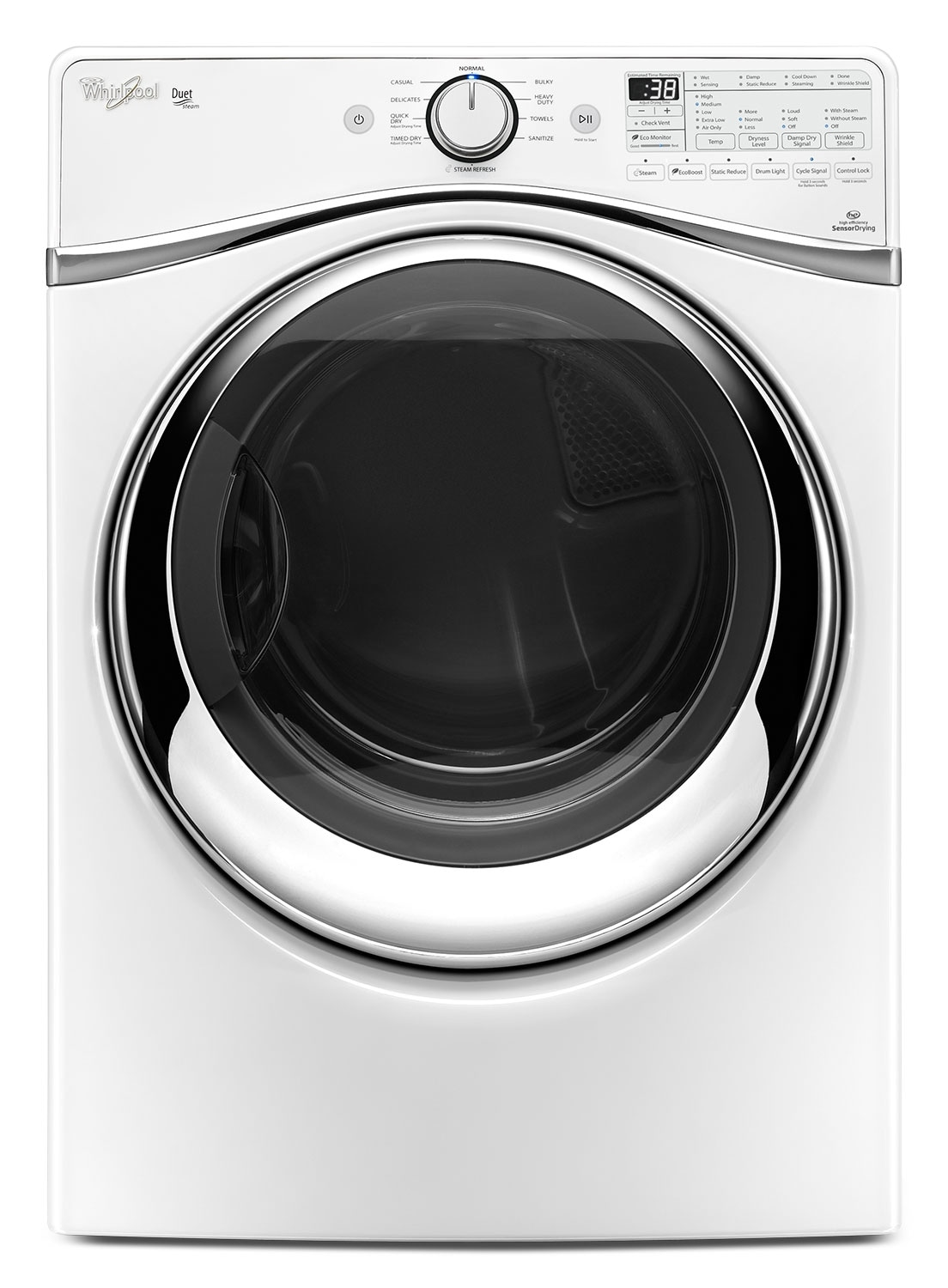 Washers and Dryers - Whirlpool Gas Dryer (7.3 Cu. Ft.) WGD97HEDW