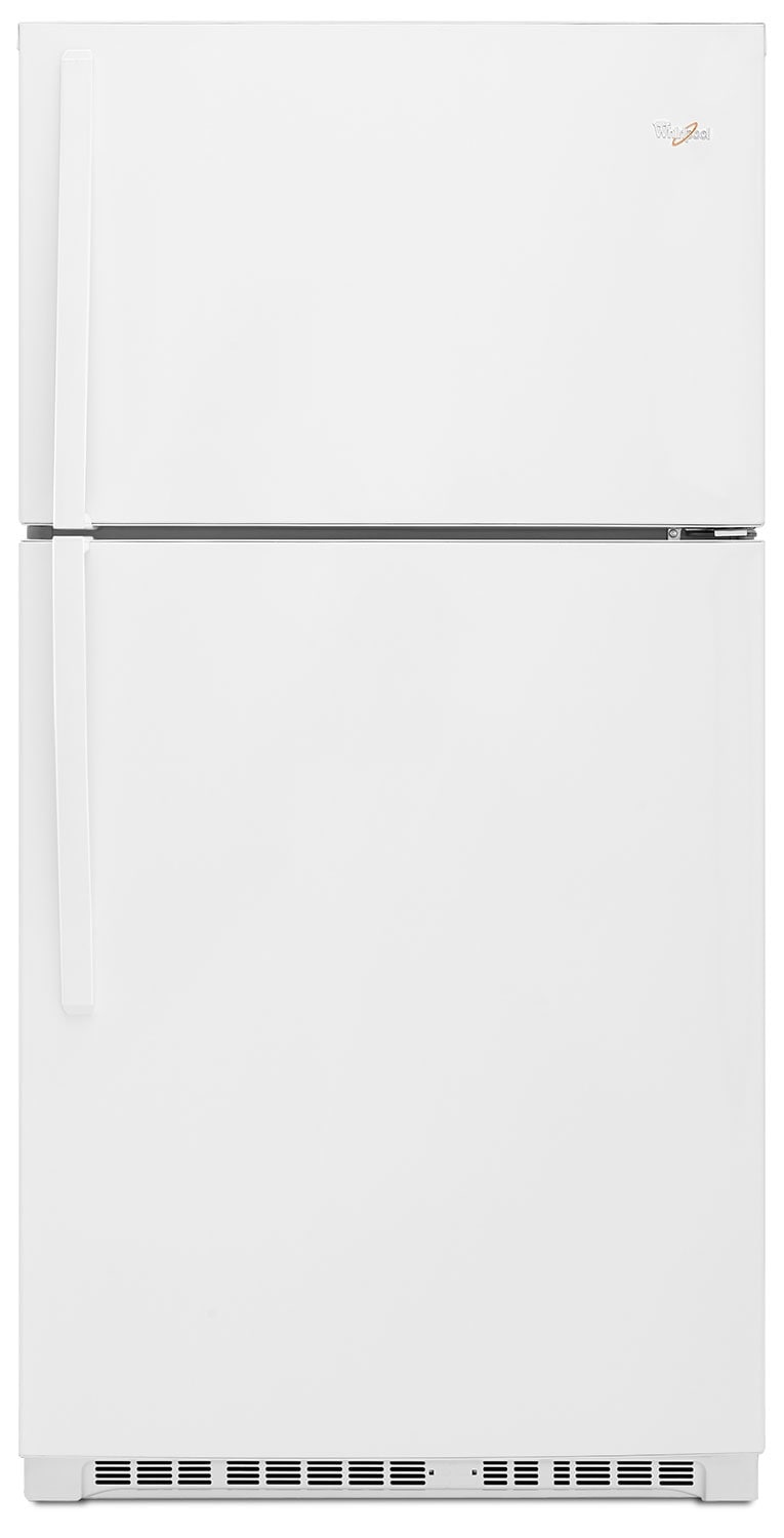 Refrigerators and Freezers - Whirlpool 21 Cu.Ft. Top-Freezer Refrigerator - White