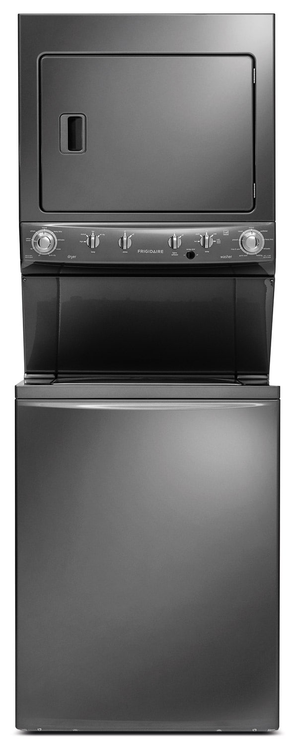 Washers and Dryers - Frigidaire Electric Washer/Dryer Laundry Centre - Slate