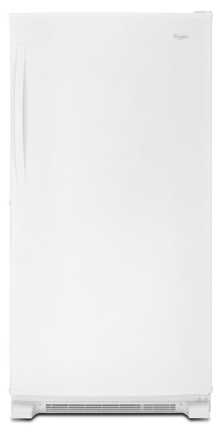 Refrigerators and Freezers - Whirlpool White Upright Freezer (19.6 Cu. Ft.) - WZF79R20DW