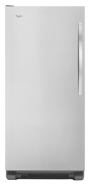 Refrigerators and Freezers - Whirlpool White Upright Freezer (17.7 Cu. Ft.) - WSZ57L18DM
