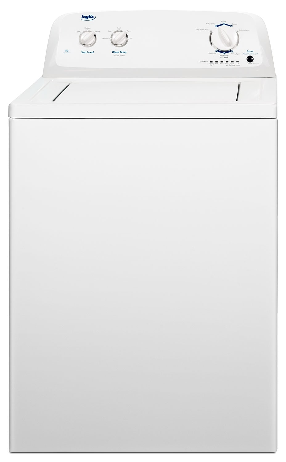 Washers and Dryers - Inglis 4.1 Cu. Ft. Top-Load Washer - White