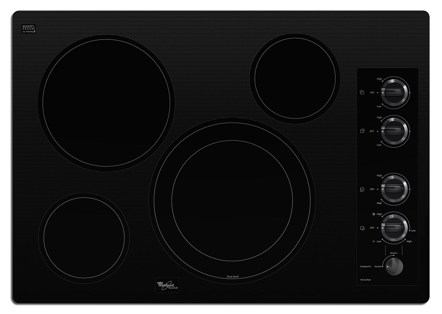 Whirlpool Electric Cooktop G7CE3034XB
