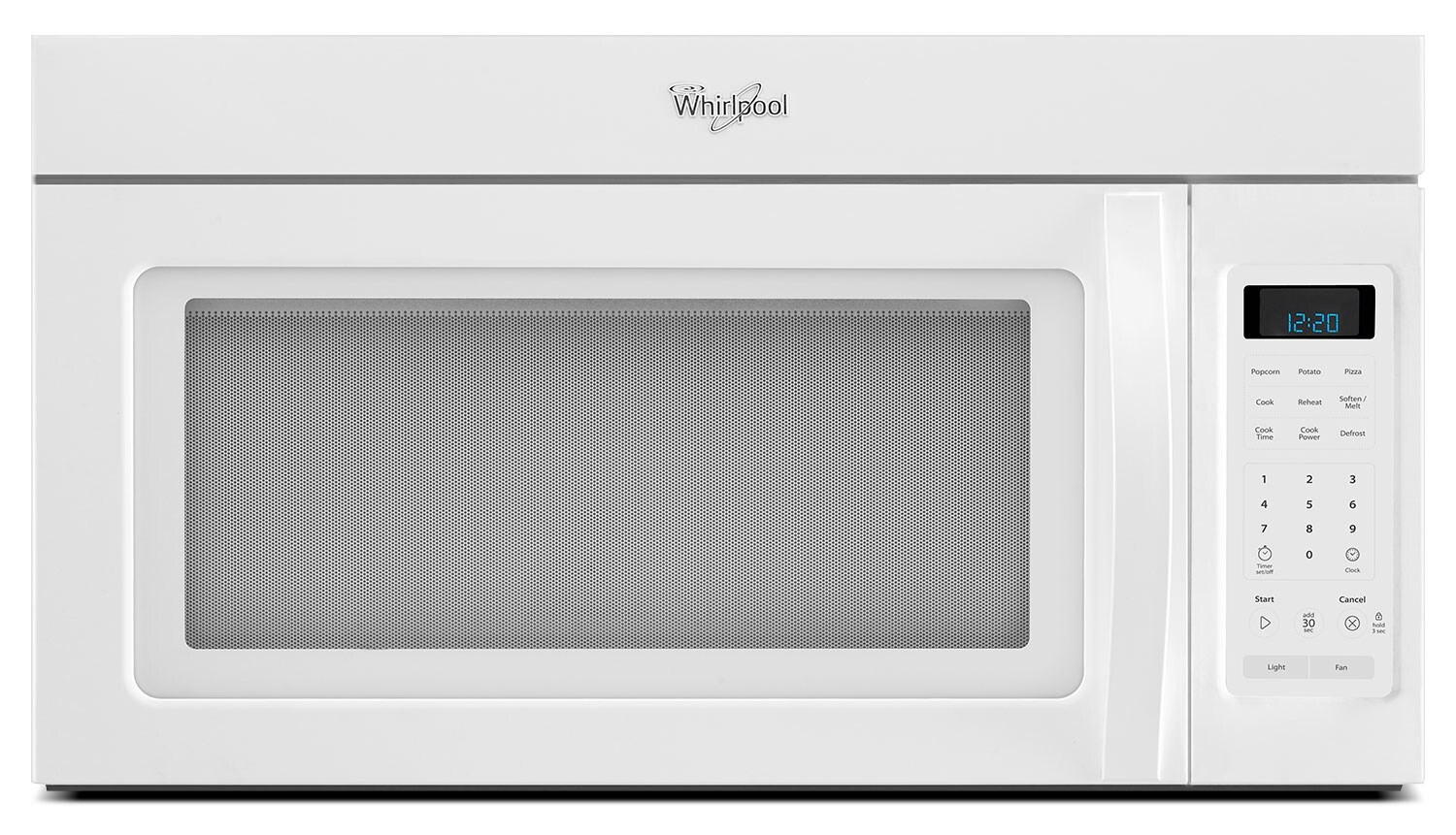 Cooking Products - Whirlpool White Over-the-Range Microwave (1.7 Cu. Ft.) - YWMH31017AW