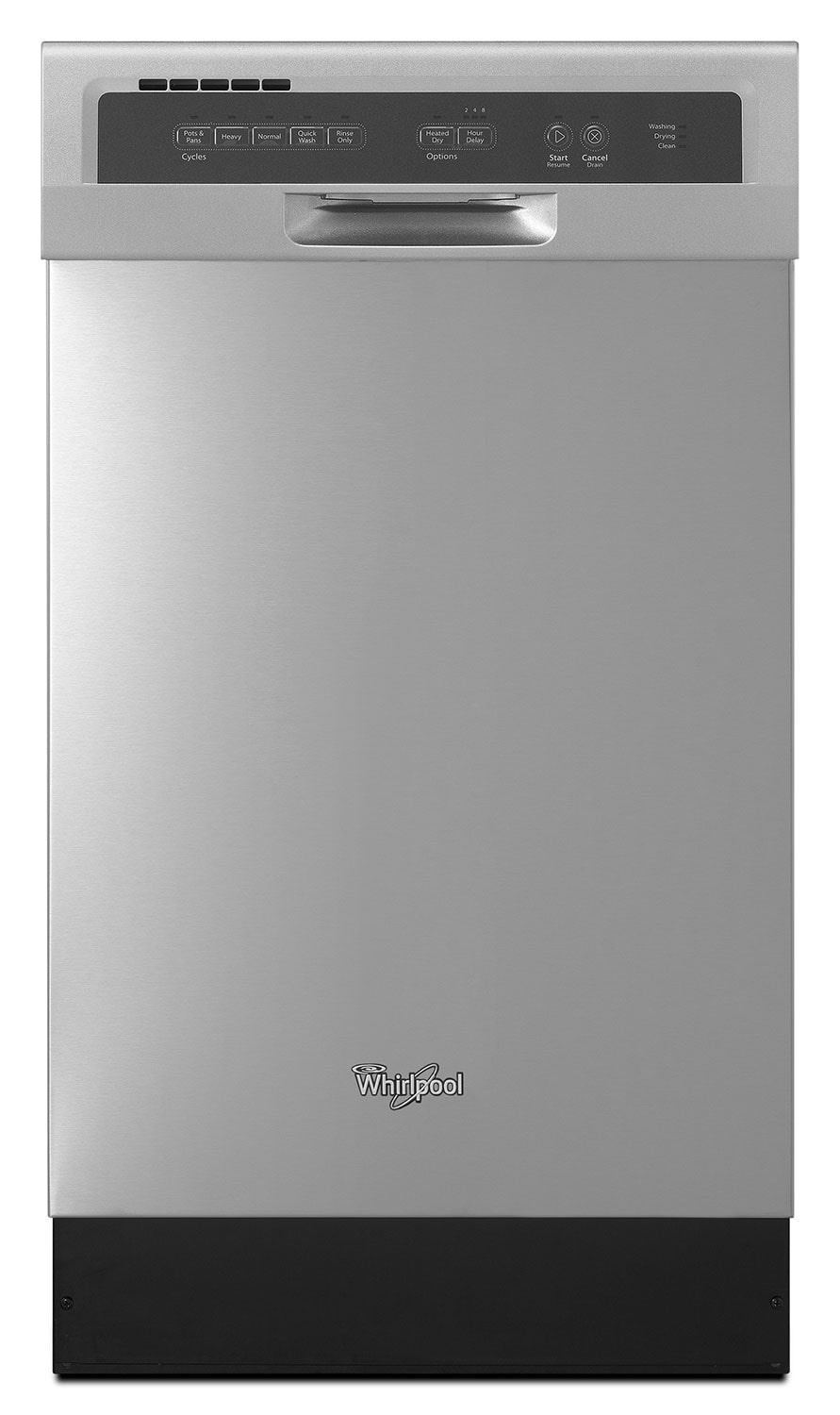 "[Whirlpool Stainless Steel 18"" Dishwasher - WDF518SAAM]"