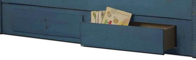 Kids Furniture - Phoenix Storage Trundle - Blue