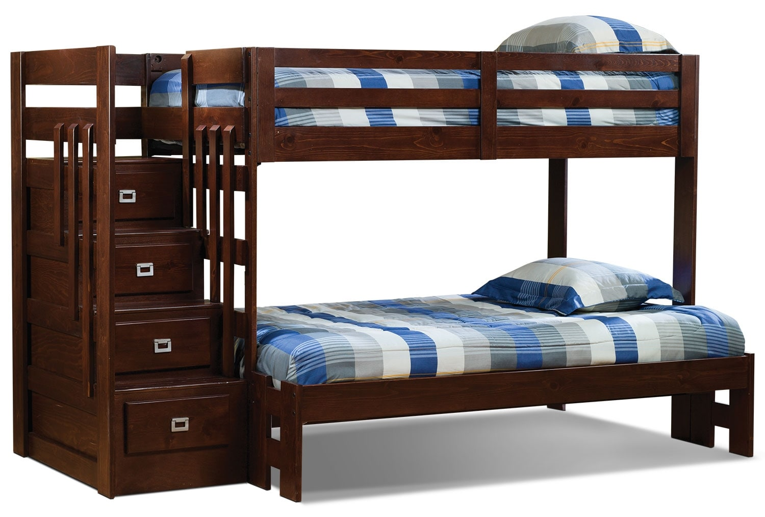 Berkeley Twin/Full Staircase Bunk Bed  United Furniture Warehouse