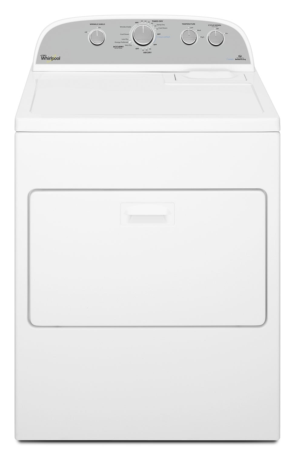 Washers and Dryers - Whirlpool Gas Dryer (7.0 Cu. Ft.) WGD49STBW