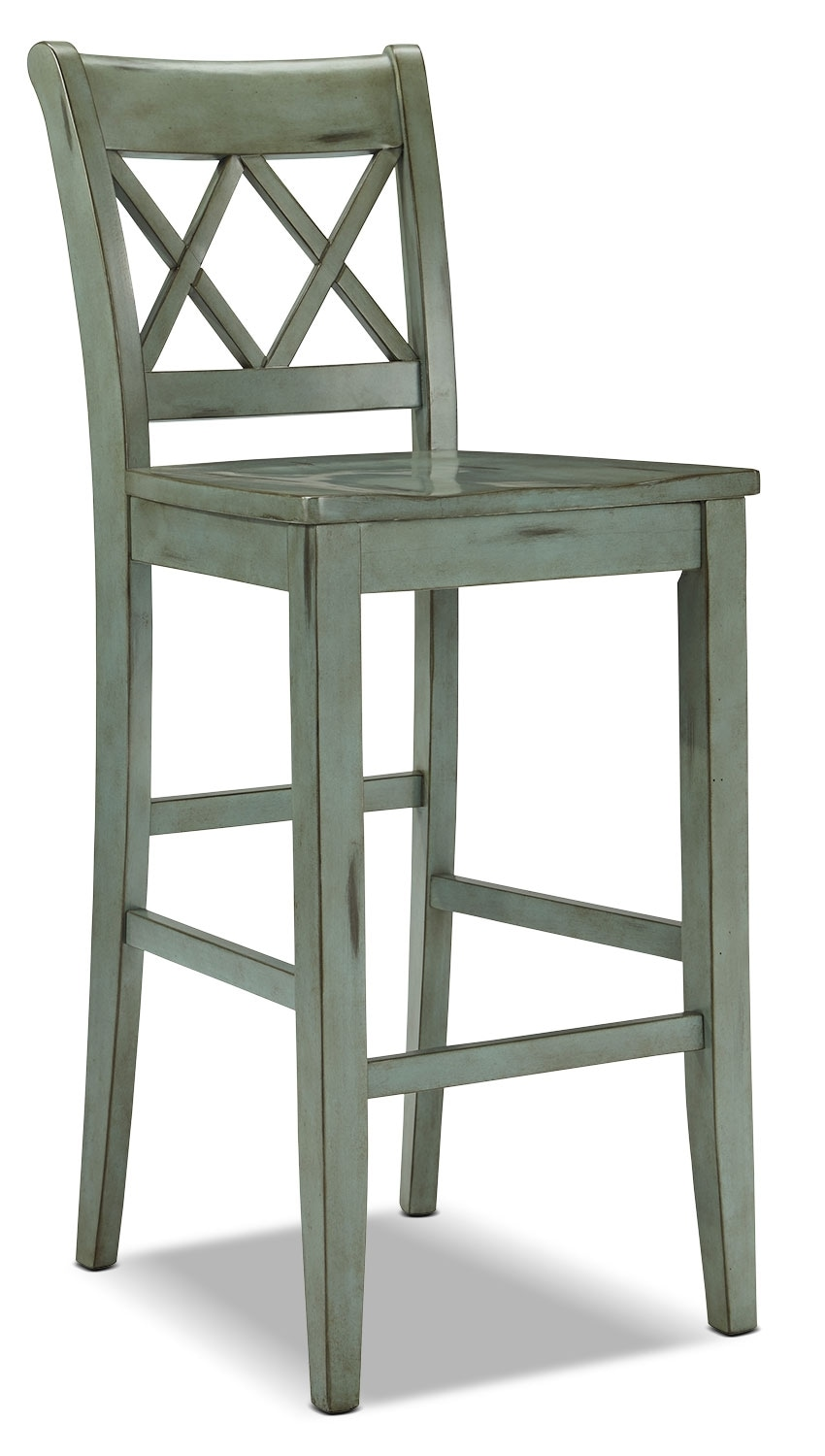 "Dining Room Furniture - Mestler 30"" Barstool – Blue-Green"
