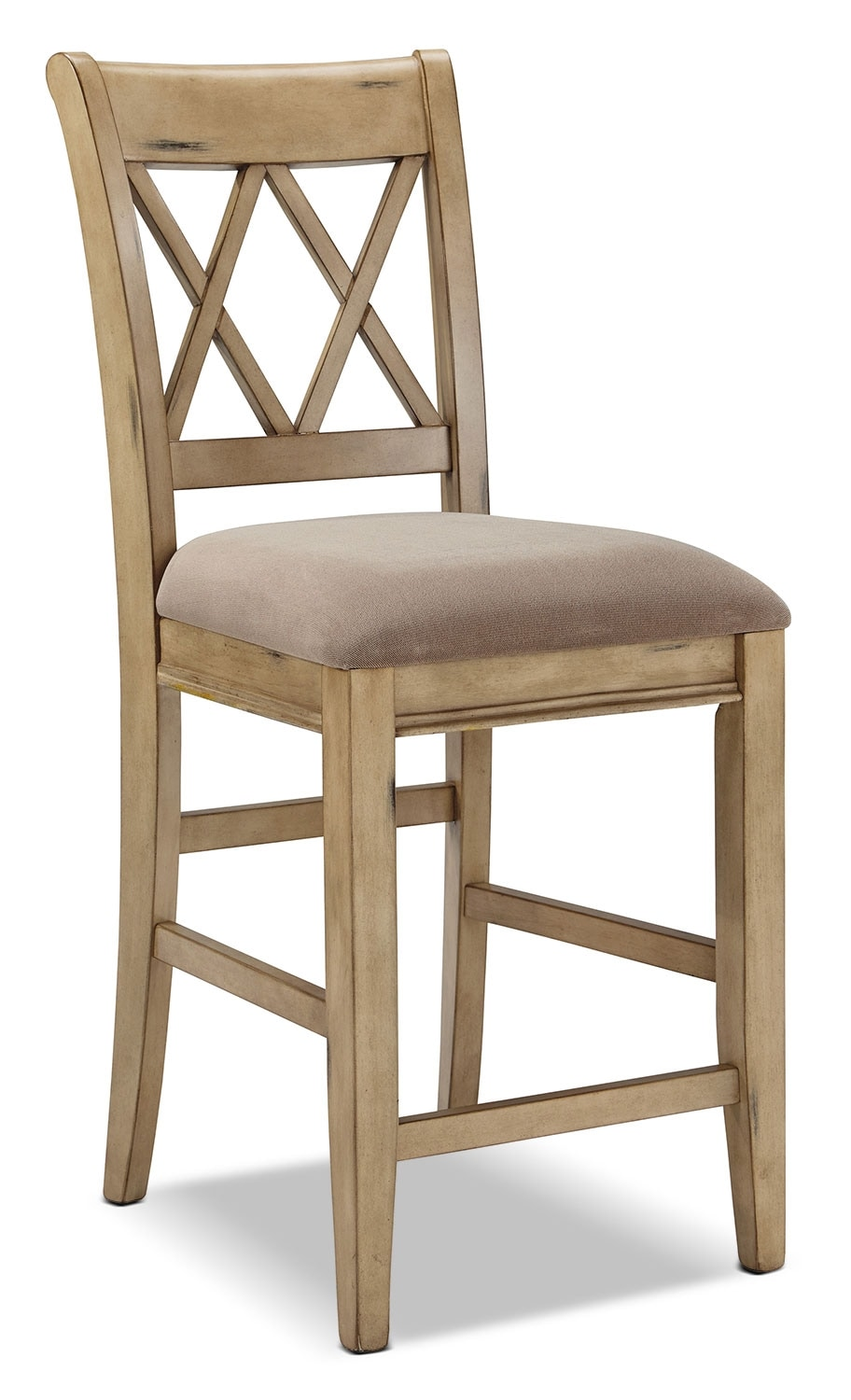 "Dining Room Furniture - Mestler 24"" Barstool – White"