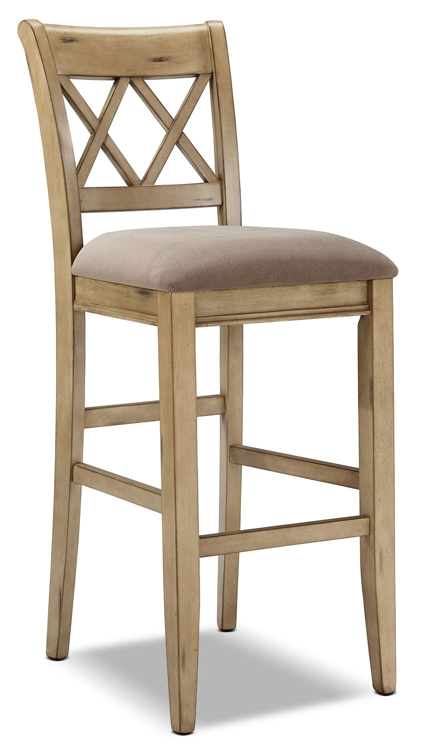 "Dining Room Furniture - Mestler 30"" Barstool – White"