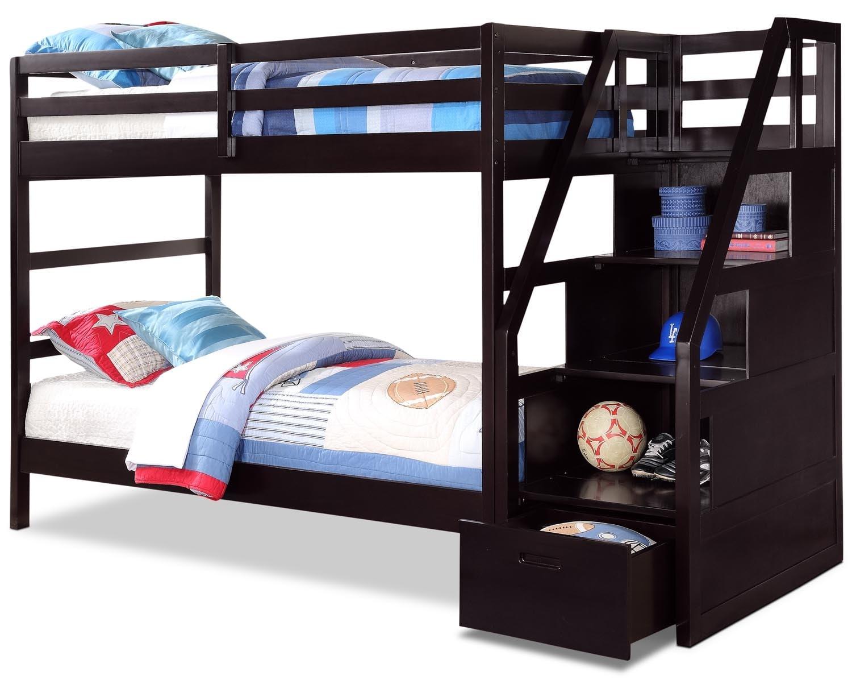 Kids Furniture - Dane Twin Bunk Bed