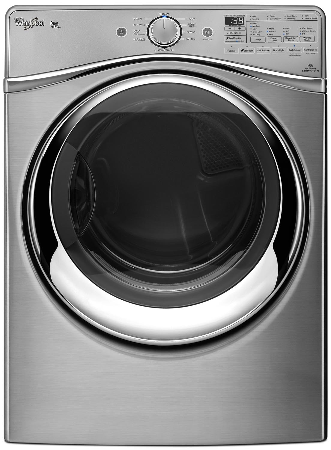 Washers and Dryers - Whirlpool Gas Dryer (7.3 Cu. Ft.) WGD97HEDU